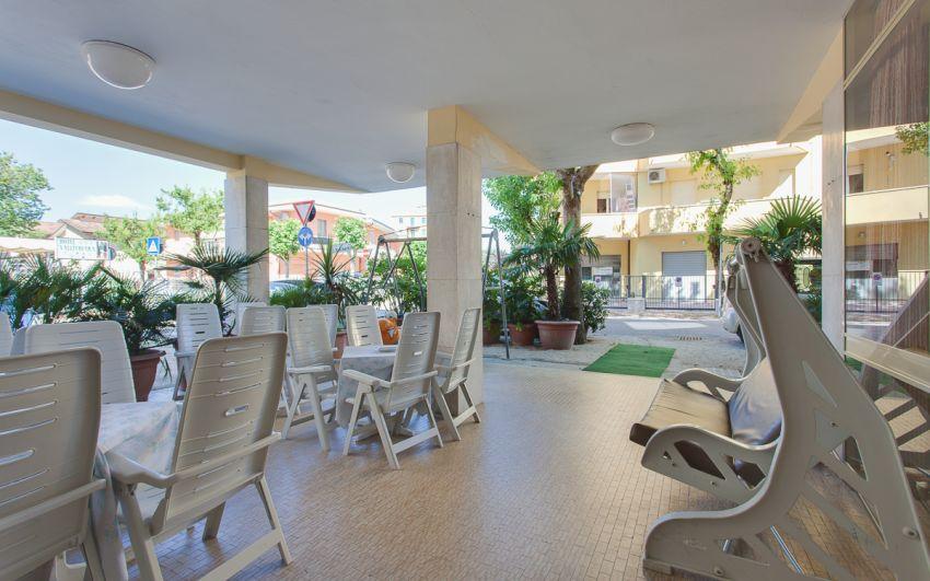 HOTEL VILLA PARIS DEPENDANCE - ESTERNO TERRAZZO